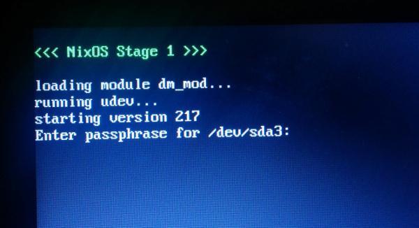 Installing NixOS